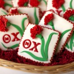 Theta Chi Fraternity Decorated Cookies