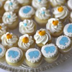 Baby Shower Mini Cupcakes