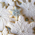 Decorated Snowflake Cookies– Gathering The Dough and Re-Rolling The Post
