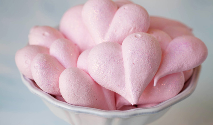 """Be Still My (Meringue) Heart"" Cookies"