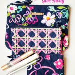 Vera Bradley and Mally Cosmetics Give-Away