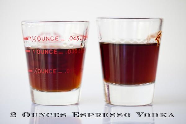 Double Espresso Vodka Drinks