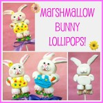 Marshmallow Bunny Pops Tutorial