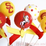 Tiny Prints Announcements and USC Cake Pops