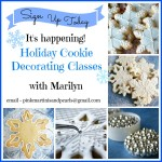 Holiday Cookie Decorating Classes– Sign Up Now!