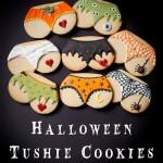 Halloween Tushie Cookies