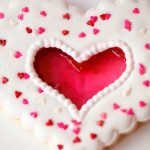 West Elm OC Valentine's Cookie Decorating Workshop Recap and Glass Heart Cookie Tip