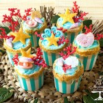 Endless Summer Cupcakes – Part 2 Wilton Sea Life Fondant Mold