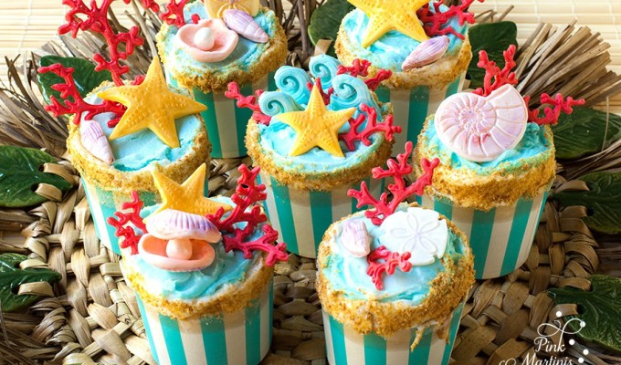 Endless Summer Cupcakes – Part 2 Wilton Sea Life Fondant Mold