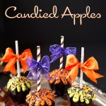 Black Cinnamon Candied Apples