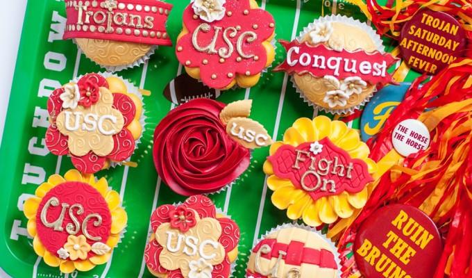 USC Trojan Cupcakes! Fight On!