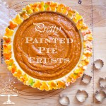 Pretty Painted Pie Crusts