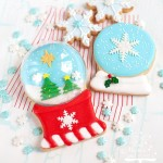 Shaking It Up With Snow Globe Decorated Sugar Cookies