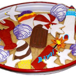 Decorated Nantucket Cookies – A Sweet Remembrance
