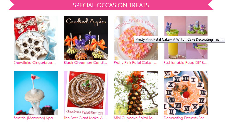 special occassion treats