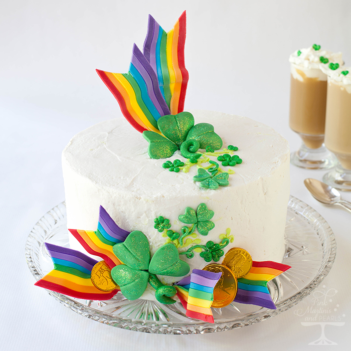 st. patick's day cake