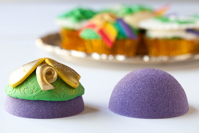 fondant foam dome shapes
