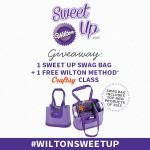 #WiltonSweetUp Giveaway!
