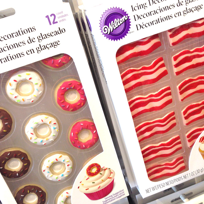 Wilton Bacon Icing Decorations