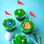 FORE! Father's Day Golf-Themed Cupcakes