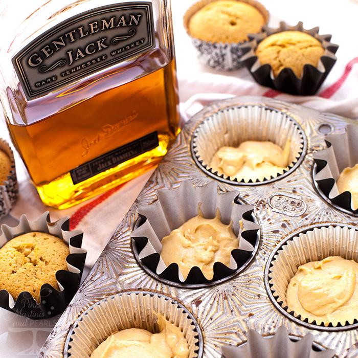 Gentleman Jack Cupcakes