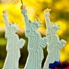 DIY Decorated Statue of Liberty Cookies/Sparkler Holders