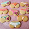 Bridal Shower 'Tushie Cookies'!